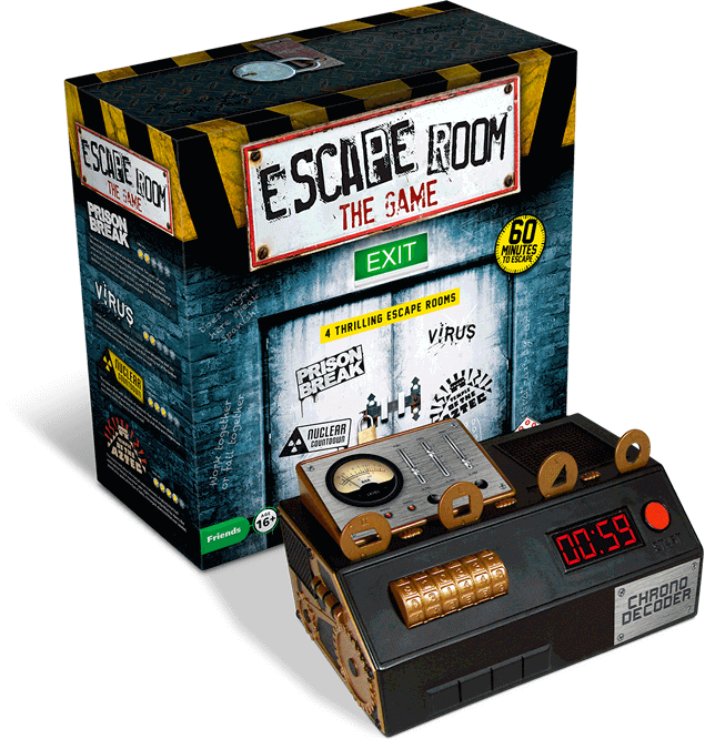 escape room board game virus