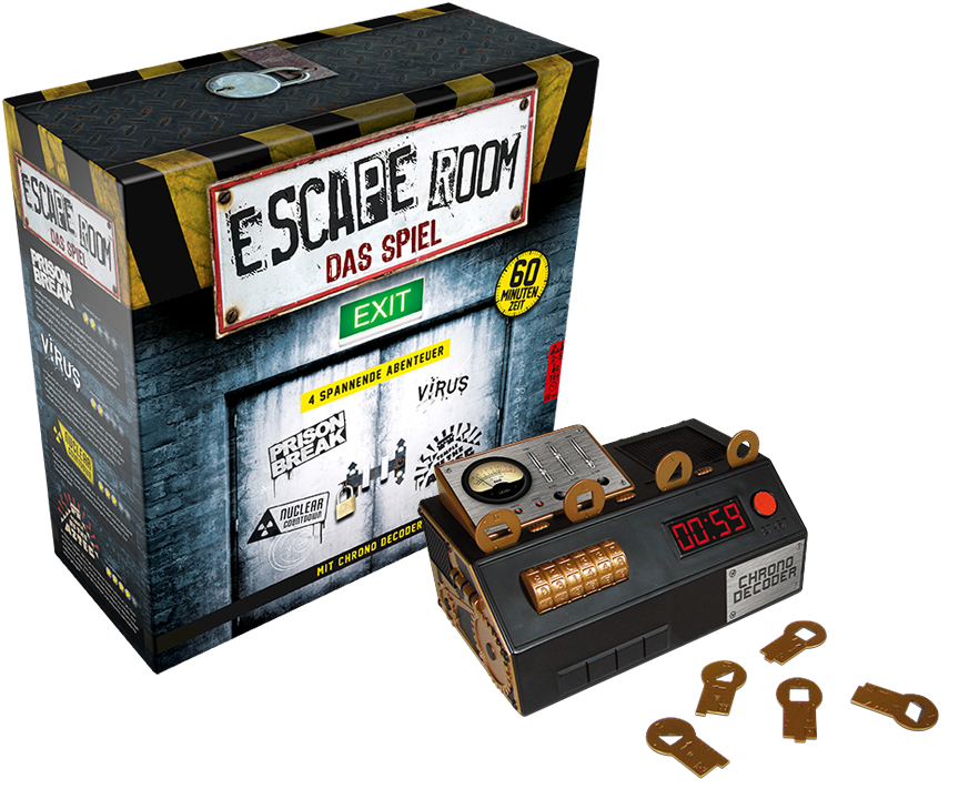Escape Room Boatd Game