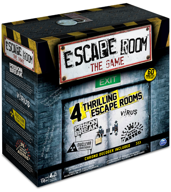 photo relating to Free Printable Escape Room Game identified as Escape Place The Recreation - Around the fascinating Escape Area board