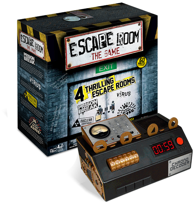 Spin Master Games Escape Room