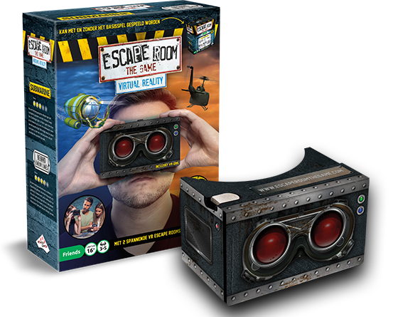 Escape Room The Game Virtual Reality Set